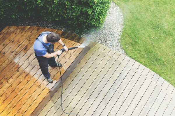A professional will know the right type of cleaner and pressure washer to use for your project, ensuring the best results the first time around. (Dreamstime)